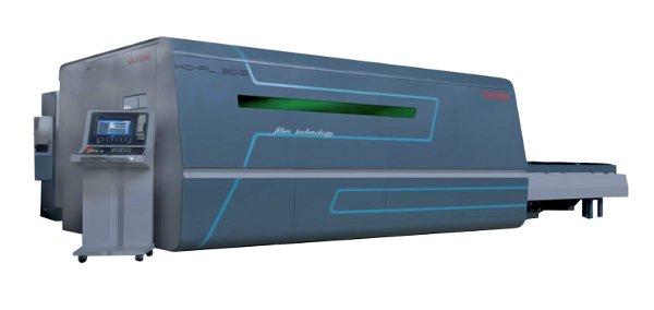 Установка лазерной резки