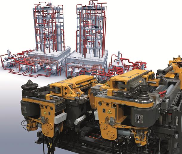 Трубогибочные станки для котлостроения и строительства электростанций