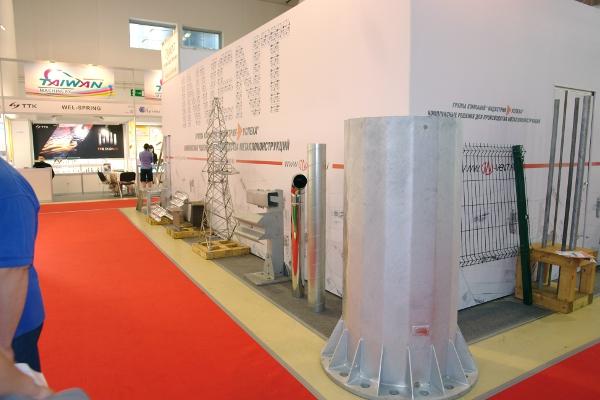 фото с выставки Металлоборабтка 2012